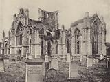 Melrose Abbey from South-East