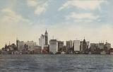 New York: New York Skyline from Hudson River