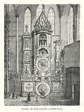 Clock in Strasburg Cathedral