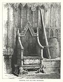 Coronation chair and stone, Westminster