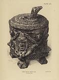 Mexico: Aztec vase in black clay
