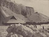 Niagara Falls: An Ice Mountain at the Foot of American Fall