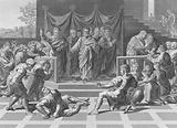 The Death of Ananias, Acts, Chapter 5, Verses 1-11