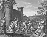 The Stoning of St Stephen, Acts, Chapter 7, Verses 54-60
