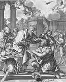 Saul receiving his Sight, Acts, Chapter IX, Verses 10-19