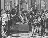 Elymas struck Blind, Acts, Chapter 13, Verses 6-12