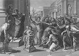 Paul and Barnabas at Lystra, Acts, Chapter 14, Verses 8-19