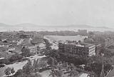 Bombay / Mumbai: Looking South-East from the Rajabai Tower