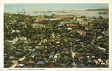 Bird's Eye View of Honolulu Harbor