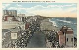 East Seaside and Band Stand, Long Beach, California