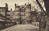 Cambridge: Newnham College, Showing the Clough Memorial Gates