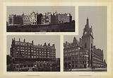 Glasgow: Western Infirmary; St Enochs' Station and Hotel; Central Station and Hotel