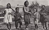 Haka dancing by Maori children