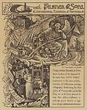 Advertisement for George Falkner and Sons lithographers, engravers and printers