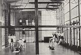 Gymnasium at Peckham Health Centre, St Mary's Road, London