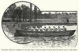 First Oxford and Cambridge University Boat Race, Henley on Thames, Oxfordshire, 1829