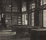 Librarian's corner in the Royal Library at Windsor Castle, Berkshire
