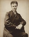 August Strindberg, Swedish author and artist