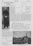 Imprisonment of Alfred Dreyfus on Devil's Island