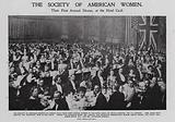 Dinner of the Society of American Women, London
