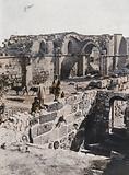 Ruined Crusader Church of St Mary, Al-Bireh, Palestine