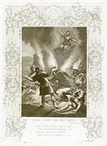 Elijah calling Fire from Heaven