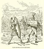 Combat between the Horatii and Curiatii