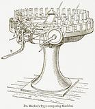 Dr Mackie's Type-Composing Machine