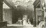 Interior of Sizergh Hall, Westmorland