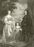 James Stanley 7th, Earl of Derby and Charlotte de la Tremouille, his Countess