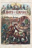 Front cover of first issue of Boys of the Empire, 6 February 1888