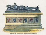 Tomb of the Black Prince in Canterbury Cathedral