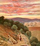 Mount of Olives and Jerusalem