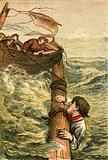 Self devotion of a seaman