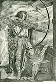 """William continued his wonderful archery"""