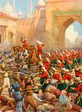 Sir Henry Havelock at the Relief of Lucknow