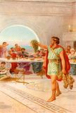 """Then Perseus held aloft the Gorgon's head"""
