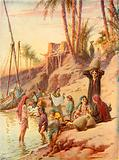 By the banks of the Nile