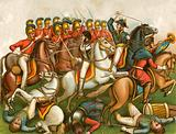Charge of the Guards, Waterloo