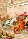 Roman chariot race