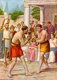 Etruscan boxers