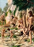 The original Italians - Cave men