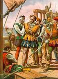 Mutiny on board the fleet of Magellan