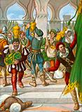 The Portuguese sacking the royal palace of Calicut