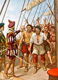 Mutiny of the crew of the Portuguese ship Fior del Mare