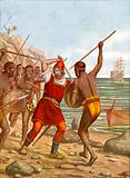 Cadamosto killed by negroes