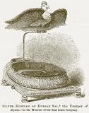 Silver Howdah of Durjan Sal, the Usurper of Mysore