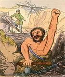Jack killing the Giant Cormoran