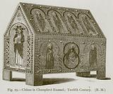 Chasse in Champleve Enamel; Twelfth Century