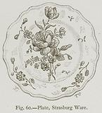 Plate, Strasburg Ware